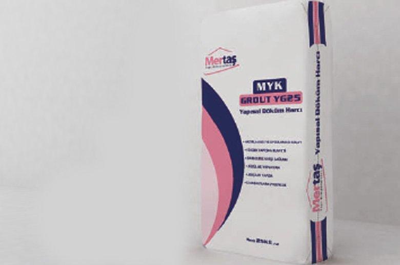 MYK GROUT YG25 - Yapısal Döküm Harcı